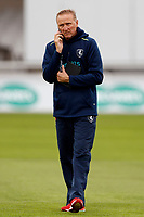 Kent assistant manager Allan Donald during the County Championship Division Two (day 3) game between Kent and Northants at the St Lawrence ground, Canterbury, on Sept 4, 2018.