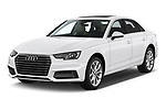 2019 Audi A4 Premium 4 Door Sedan angular front stock photos of front three quarter view