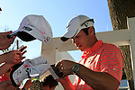 Paul Casey signs autographs for eager fans at the end of Round 3 of the BMW PGA Championship at  Wentworth, Surrey, England, 22nd May 2010...Photo Golffile/Eoin Clarke.(Photo credit should read Eoin Clarke www.golffile.ie)....This Picture has been sent you under the condtions enclosed by:.Newsfile Ltd..The Studio,.Millmount Abbey,.Drogheda,.Co Meath..Ireland..Tel: +353(0)41-9871240.Fax: +353(0)41-9871260.GSM: +353(0)86-2500958.email: pictures@newsfile.ie.www.newsfile.ie.
