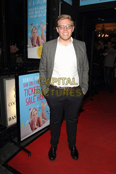 LONDON, ENGLAND - AUGUST 27: Rob Beckett attends the Some Girl I Used To Know - gala night at the Arts Theatre, Leicester Square on August 27, 2014 in London, England<br /> CAP/ROS<br /> &copy;Steve Ross/Capital Pictures