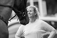 Jonelles speaks with Tayla after her round: NZL-Tayla Mason rides Centennial during the Showjumping for the Gain Equine Nutrition CCI3*-L. 2019 IRL-Sema Lease Camphire International Horse Trials. Cappoquin. Co. Waterford. Ireland. Sunday 28 July. Copyright Photo: Libby Law Photography