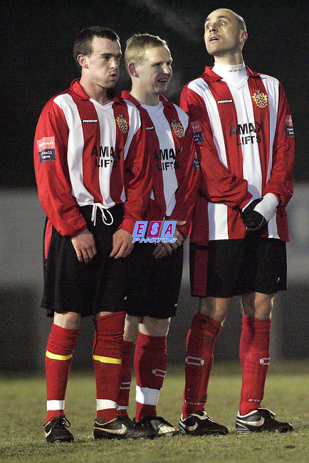 AFC HORNCHURCH v BILLERICAY TOWN<br /> Ryman Premier League Tuesday 26th January 2010