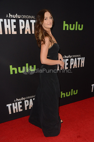 LOS ANGELES, CA - MARCH 21: Minka Kelly at the Los Angeles premiere of Hulu's The Path at The ArcLight Hollywood in Los Angeles, California on March 21, 2016. Credit: David Edwards/MediaPunch