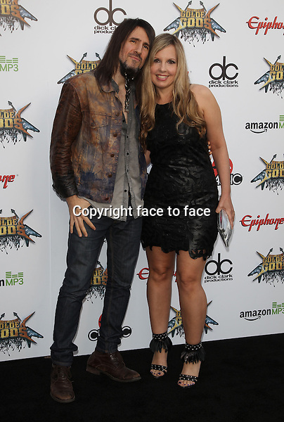 Los Angeles, CA - April 23: Ron &quot;Bumblefoot&quot; Thal Attending 2014 Revolver Golden Gods Awards At Club Nokia California on April 23, 2014.<br /> Credit: RTNUPA/MediaPunch<br /> Credit: MediaPunch/face to face<br /> - Germany, Austria, Switzerland, Eastern Europe, Australia, UK, USA, Taiwan, Singapore, China, Malaysia, Thailand, Sweden, Estonia, Latvia and Lithuania rights only -