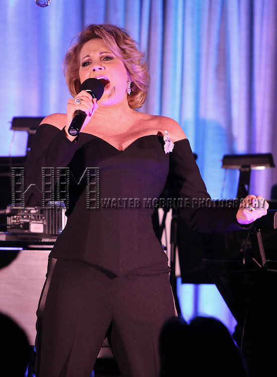 """Lorna Luft performs """"Songs My Mother Taught Me: The Judy Garland Songbook"""" at Feinsteins in New York City."""
