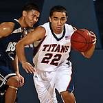 November 14, Fullerton Ca. - Titans host Hope Uni. in the annual battle of Nutwood.