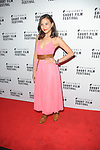 Crystal Yu at the  Triforce Short Film Festival   at BAFTA Piccadilly London