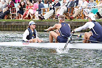 Race: 43 - Event: TEMPLE - Berks: 145 UNIV. OF CALIFORNIA, BERKELEY, USA - Bucks: 137 TRINITY COLLEGE, DUBLIN, IRL<br /> <br /> Henley Royal Regatta 2017<br /> <br /> To purchase this photo, or to see pricing information for Prints and Downloads, click the blue 'Add to Cart' button at the top-right of the page.