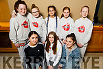 New Generation Dancing Club from Tralee at the Irish Hip Hop Masters Dance Championships 2020 in the Brandon Hotel on Friday. Kneeling l to r: Ruby Ryall, Regan Guerin and Roisin Coffey.<br /> Back l to r: Donna O'Regan, Jessica Kostrzewa, Ella Stroppel, Dilte Kuraite and Carrie Ann Aherne.