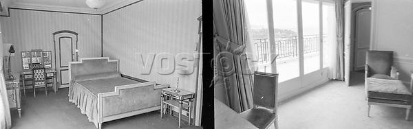 HOTELS HOTEL DE PARIS IN  MONTE CARLO - CHURCHILL WILL STAY THERE  ;<br /> 12 APRIL 1963