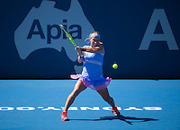 SVETLANA KUZNETSOVA (RUS)<br /> <br /> Apia International <br /> Tennis - Apia International, 2016  - Tournament - Sydney Olympic Park, Sydney, New South Wales, Australia, January 2016<br /> <br /> &copy; AMN IMAGES / FREY