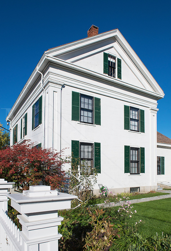 Farnsworth Homestead, Rockland, Maine, USA