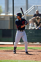 Nathan Lukes - Cleveland Indians 2016 spring training (Bill Mitchell)