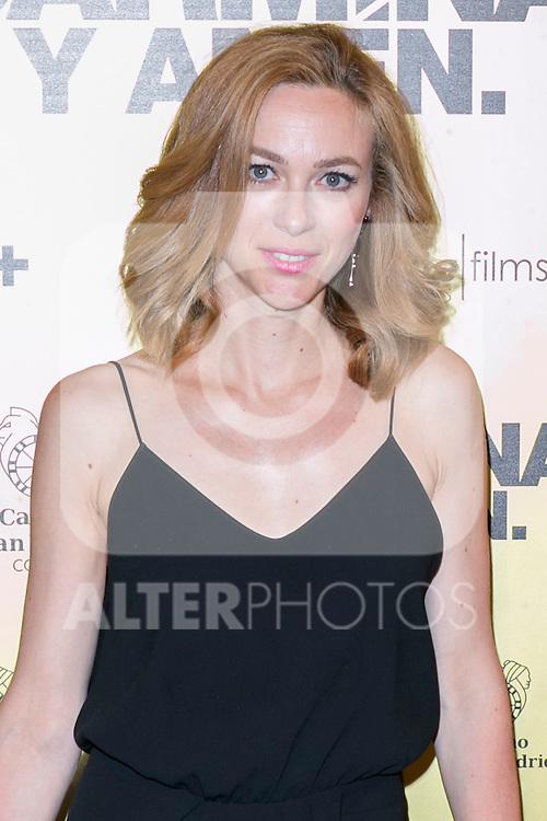 "Spanish actress Marta Hazas attend the Premiere of the movie ""Carmina y Amen"" at the Callao Cinema in Madrid, Spain. April 28, 2014. (ALTERPHOTOS/Carlos Dafonte)"