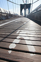 Walk across the Brooklyn Bridge