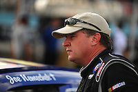 Aug. 7, 2009; Watkins Glen, NY, USA; NASCAR Sprint Cup Series driver Joe Nemechek during qualifying for the Heluva Good at the Glen. Mandatory Credit: Mark J. Rebilas-