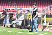 SÃO PAULO,SP, 31.07.2016 - SÃO PAULO-XV DE PIRACICABA - O técnico Cléber Gaúcho do XV de Piracicaba durante partida válida pela 6ª (sexta) rodada da Copa Paulista 2016, no  no Estádio Cícero Pompeu de Toledo, o Morumbi, neste domingo, 31.  (Foto: Mauricio Bento/Brazil Photo Press)