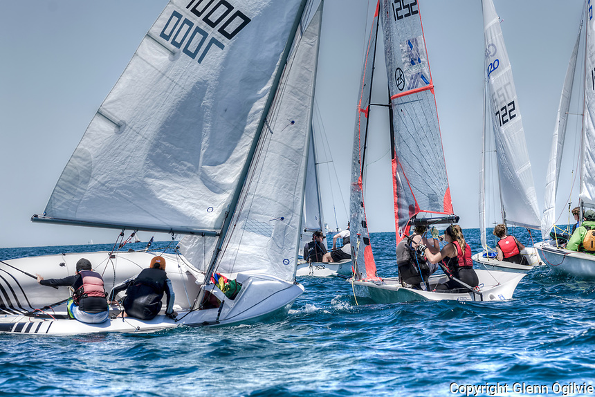 Practice day for Sailfest held at the Sarnia Yacht Club.