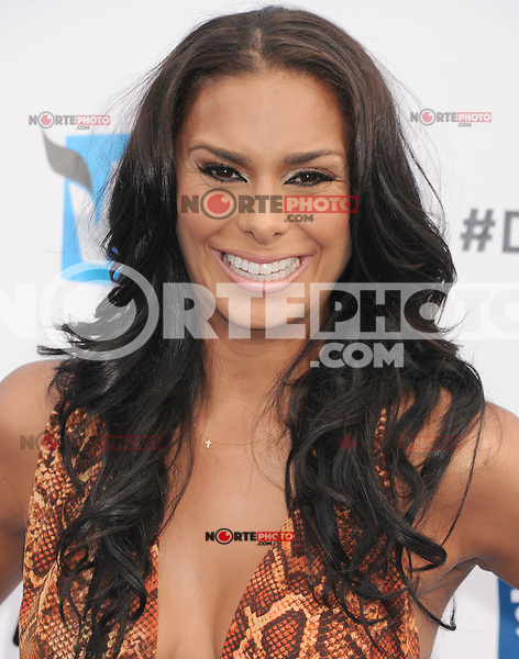 SANTA MONICA, CA - AUGUST 19: Laura Govan  arrives at the 2012 Do Something Awards at Barker Hangar on August 19, 2012 in Santa Monica, California. /NortePhoto.com<br />