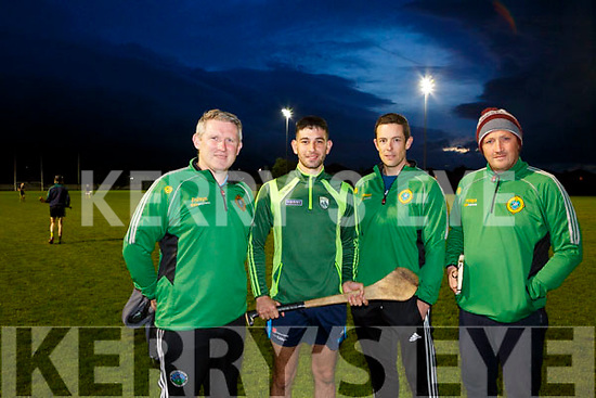 At the Lixnaw Press Conference were Mark Foley, Trainer, John Buckley, Captain, Trevor Mckenna, selector, Fergus Fitzmaurice, Manager