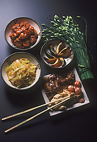 Asie/Chine : Gastronomie chinoise - Assortiment de plats chinois