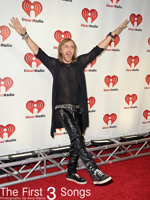 David Guetta attends the 2011 iHeartRadio Music Festival on September 24, 2011 at the MGM Grand Garden Arena in Las Vegas, Nevada.