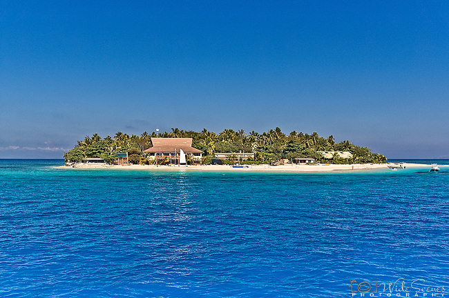 Beachcomber Island Resort in the Mamanuca Islands in Fiji