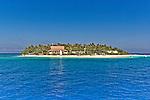 Beachcomber Island Resort in the Mamanuca Islands in Fiji
