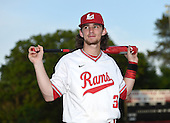 Lake Mary Rams shortstop Brendan Rodgers (3) poses for a photo before a game against the Lake Brantley Patriots on April 2, 2015 at Allen Tuttle Field in Lake Mary, Florida.  Lake Brantley defeated Lake Mary 10-5.  (Mike Janes Photography)