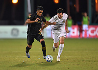 LAKE BUENA VISTA, FL - JULY 18:  during a game between Los Angeles Galaxy and Los Angeles FC at ESPN Wide World of Sports on July 18, 2020 in Lake Buena Vista, Florida.