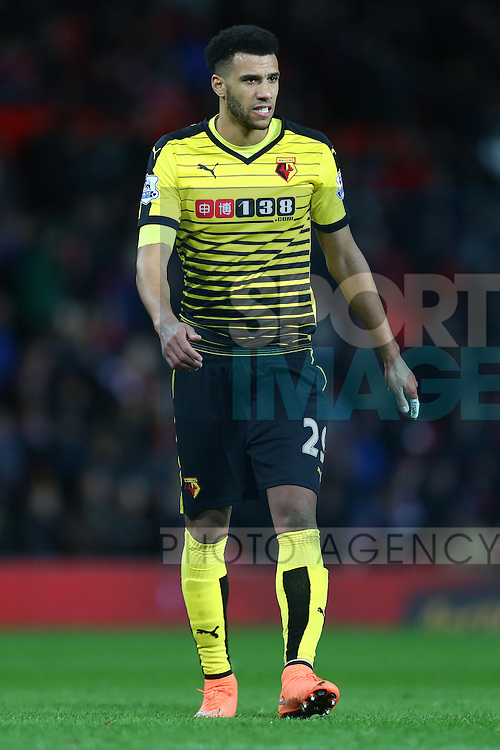 Etienne Capoue of Watford - Barclay's Premier League - Manchester United vs Watford - Old Trafford - Manchester - 02/03/2016 Pic Philip Oldham/SportImage