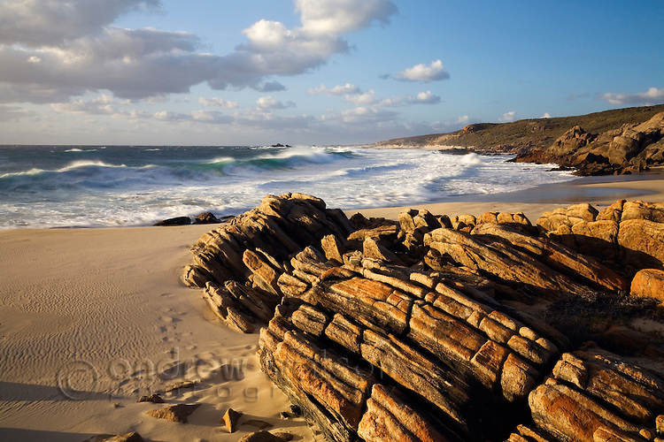 Cape Naturaliste at sunset.  Leeuwin-Naturaliste National Park, Western Australia, AUSTRALIA.