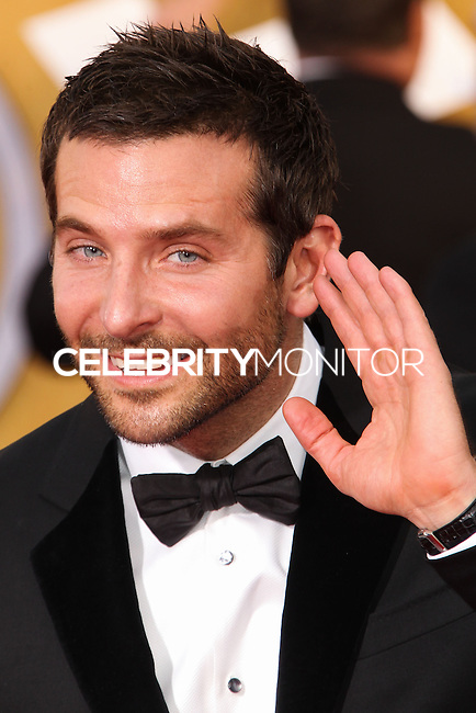 LOS ANGELES, CA - JANUARY 18: Bradley Cooper at the 20th Annual Screen Actors Guild Awards held at The Shrine Auditorium on January 18, 2014 in Los Angeles, California. (Photo by Xavier Collin/Celebrity Monitor)