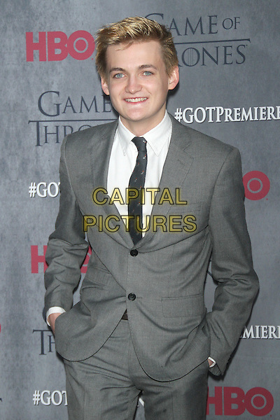 NEW YORK, NY - MARCH 18: Jack Gleeson at the 'Game Of Thrones' Season 4 New York premiere at Avery Fisher Hall, Lincoln Center on March 18, 2014 in New York City.  <br /> CAP/MPI/RW<br /> &copy;RW/MPI/Capital Pictures