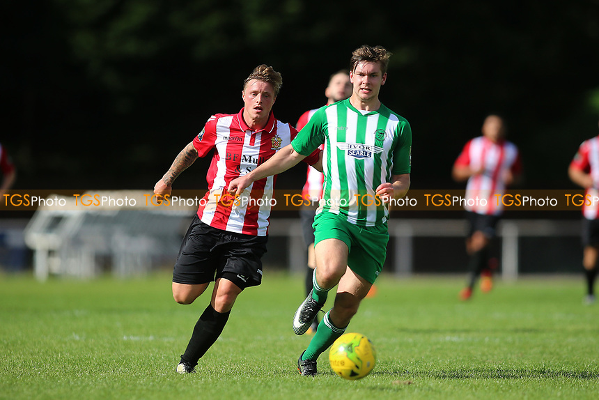 George Purcell of Hornchurch during AFC Hornchurch vs Soham Town Rangers, Bostik League Division 1 North Football at Hornchurch Stadium on 12th August 2017