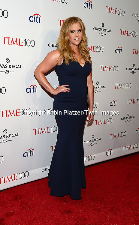Amy Schumer attends the TIME 100 Issue celebrating the 100 Most Influential People in the World on April 21, 2015 <br /> at Frederick P Rose Hall at Lincoln Center in New York City, New York, USA.<br /> <br /> photo by Robin Platzer/Twin Images<br />  <br /> phone number 212-935-0770