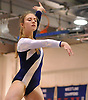 Meghan Maquet of Long Beach peforms on the balance beam during a varsity gymnastics meet against Bethpage at Long Beach High School on Monday, Jan. 4, 2016. She scored an 8.0 in the event and posted the top all-around score of 32.55. Long Beach won the meet by a score of 151.55-147.60.