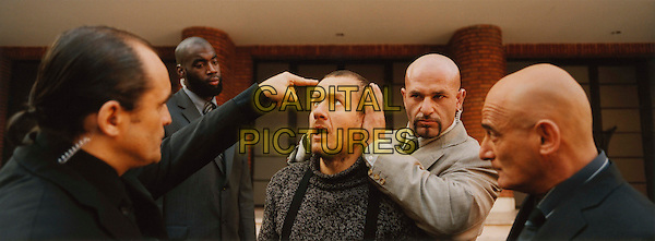 DANY BOON (3RD FROM LEFT) & JEAN-PIERRE BECKER (FAR RIGHT).in Micmacs (Micmacs a tire-larigot).*Filmstill - Editorial Use Only*.CAP/FB.Supplied by Capital Pictures.