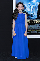"NEW YORK, NY - FEBRUARY 11: Mckayla Twiggs at the World Premiere Of Warner Bros. Pictures' ""Winter's Tale"" held at Ziegfeld Theatre on February 11, 2014 in New York City. (Photo by Jeffery Duran/Celebrity Monitor)"