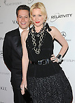 """Ioan Gruffudd (L) and wife actress Alice Evans  attends the Art of Elysium 4th Annual Charity Gala """"Heaven"""" held at The Annenberg Building at The California Science Center in Los Angeles, California on January 15,2011                                                                               © 2010 DVS / Hollywood Press Agency"""