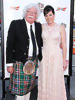 """WESTWOOD, LOS ANGELES, CA, USA - MAY 15: Ron MacFarlane, Rachael MacFarlane at the Los Angeles Premiere Of Universal Pictures And MRC's """"A Million Ways To Die In The West"""" held at the Regency Village Theatre on May 15, 2014 in Westwood, Los Angeles, California, United States. (Photo by Xavier Collin/Celebrity Monitor)"""