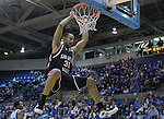 08 March 2008:   San Diego State forward, Lorrenzo Wade (31) slams a dunk during the Aztec's 46-43 Mountain West Conference loss to the Air Force Falcons at Clune Arena, U.S. Air Force Academy, Colorado Springs, Colorado.