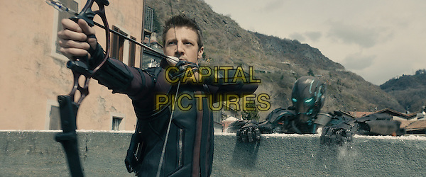 Jeremy Renner<br /> in Avengers: Age of Ultron (2015) <br /> *Filmstill - Editorial Use Only*<br /> CAP/NFS<br /> Image supplied by Capital Pictures