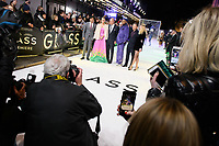 "M. Night Shyamalan, Sarah Paulson, Bruce Willis, Samuel L.Jackson, James McAvoy and Anya Taylor Joy<br /> arriving for the ""Glass"" premiere at the Curzon Mayfair, London<br /> <br /> ©Ash Knotek  D3470  09/01/2019"