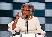 United States Representative Joyce Beatty (Democrat of Ohio) makes remarks during the fourth session of the 2016 Democratic National Convention at the Wells Fargo Center in Philadelphia, Pennsylvania on Thursday, July 28, 2016.<br /> Credit: Ron Sachs / CNP<br /> (RESTRICTION: NO New York or New Jersey Newspapers or newspapers within a 75 mile radius of New York City)