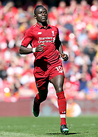 Liverpool's Sadio Mane<br /> <br /> Photographer Rich Linley/CameraSport<br /> <br /> The Premier League - Liverpool v Wolverhampton Wanderers - Sunday 12th May 2019 - Anfield - Liverpool<br /> <br /> World Copyright © 2019 CameraSport. All rights reserved. 43 Linden Ave. Countesthorpe. Leicester. England. LE8 5PG - Tel: +44 (0) 116 277 4147 - admin@camerasport.com - www.camerasport.com