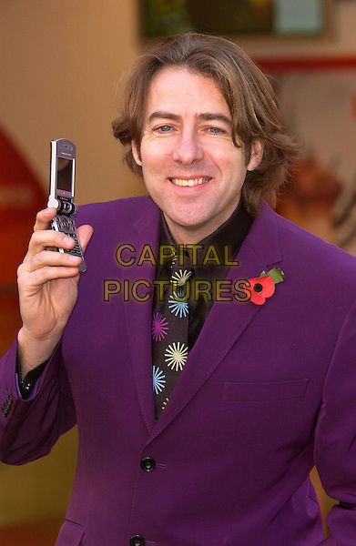 "JONATHAN ROSS.launch of ""Vodaphone live! with 3G"".high speedcamera phone.November 10th, 2004.Ref: PL.www.capitalpictures.com.sales@capitalpictures.com.©Capital Pictures."