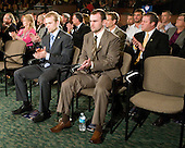 Spencer Abbott (Maine), Jack Connolly (UMD) - The 2012 Hobey Baker Award ceremony was held at MacDill Air Force Base on Friday, April 6, 2012, in Tampa, Florida.