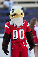 Sept 3, 2011:  Eastern Washington mascot Swoop entertained the corwed during the game against Washington.  Washington defeated Eastern Washington 30-27 at Husky Stadium in Seattle, Washington...