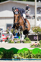 FRA-Patrice Delaveau (ORIENT EXPRESS HDC) 2014 TITLE WINNER: LONGINES Grand Prix Port of Rotterdam (Table A with Jump-Off) 160cm: FRA-Patrice Delaveau) FINAL-1ST: 2014 NED-CHIO Rotterdam (Sunday 22 June) CREDIT: Libby Law COPYRIGHT: LIBBY LAW PHOTOGRAPHY - NZL